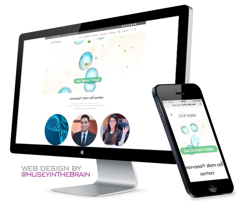 Web design for nervana®